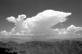 Distant Rain BW Photographic Print by Douglas Taylor