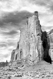 Monument Valley I BW Photographic Print by Douglas Taylor