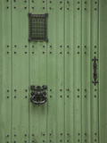 Ghent Green Door Photographic Print by George Johnson
