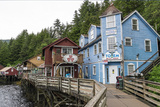 Ketchikan Creek Street I Photographic Print by Manfred Kraus