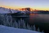 Crater Lake II Photographic Print by Ike Leahy