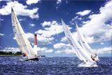 Day Sailing I Fotografisk trykk av Alan Hausenflock