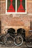 Dutch Bicyles Photographic Print by Erin Berzel