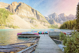 Moraine Lake Photographic Print by Roberta Murray