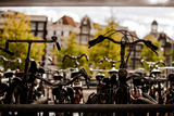 Bicycle Silhouettes Photographic Print by Erin Berzel
