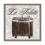 La Toilette Sqaure Prints by Todd Williams