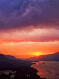 Columbia River Gorge III Photographic Print by Ike Leahy