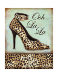 Leopard Shoe Poster by Todd Williams