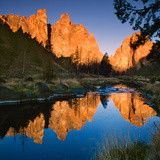 Smith Rock State Park Photographic Print by Ike Leahy