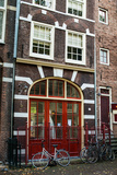 Red Door in Amsterdam Photographic Print by Erin Berzel