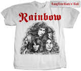 Rainbow- Long Live Rock'n'Roll (Front/Back) T-Shirt