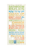 Bathroom Rules II Prints by N. Harbick