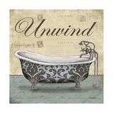 Unwind Tub Prints by Todd Williams