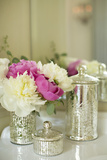 Peonies in the Loo Photographic Print by Karyn Millet
