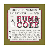 Rum and Coke Posters by Ashley Sta Teresa