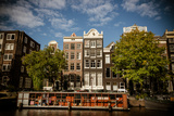 Amsterdam Canal Houses I Photographic Print by Erin Berzel