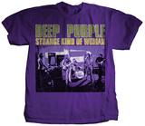 Deep Purple- Strange Kind of Woman Distressed Bluse