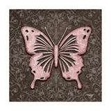 Pink Butterfly III Print by Todd Williams