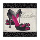 Pink Shoes Square I Print by Todd Williams