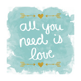 All You Need Is Love Poster by N. Harbick