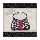 Pink Purse Square II Prints by Todd Williams