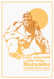 Harambe Love Plakaty