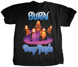 Deep Purple- Burn Album Cover T-shirts