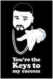 DJ Quotables- You're the Keys Print