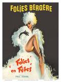 Folies Bergère - Folies en Fêtes (Folies Festivals) Prints by Pierre Okley