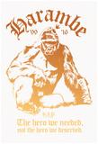 Harambe The Hero Poster