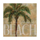 Beach Palm - Mini Posters by Todd Williams