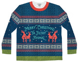 Long Sleeve: Filthy Animal Ugly Sweater (Front/Back) T-shirt