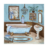 Tranquil Bath I Posters by Todd Williams