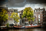 Amstel and Kerkstraat Photographic Print by Erin Berzel