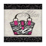 Pink Purse Square I Posters by Todd Williams