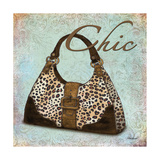 Blue Chic Purse Prints by Todd Williams