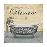 Renew Tub Poster by Todd Williams