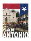 San Antonio Plakater af Todd Williams