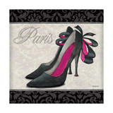 Pink Shoes Square II Prints by Todd Williams