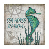 Sea Horse Ranch Poster by Todd Williams