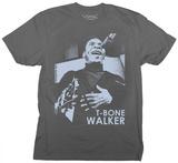 T Bone Walker- Faded Portrait T-Shirts
