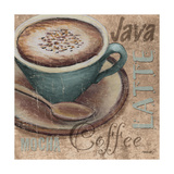 Blue Specialty Coffee I Print by Todd Williams