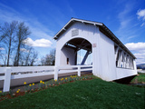 Weddle Covered Bridge Photographic Print by Ike Leahy
