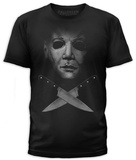 Halloween- Michael Crossed Blades T-Shirt