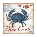 Blue Crab Print by Todd Williams