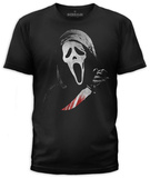 Scream- Ghostface with Red Blade T-shirts
