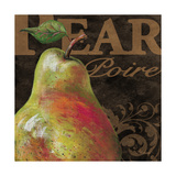 French Fruit Pear Print by Todd Williams