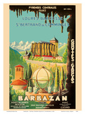Barbazan - Central Pyrenees France - Cathedrale Sainte-Marie - Grottes De Gargas (Caves of Gargas) Posters by P. Seignouret