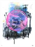Living In A Bubble Édition limitée par Lora Zombie
