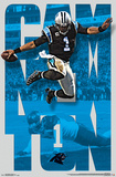 NFL: Carolina Panthers- Cam Newton 16 Print